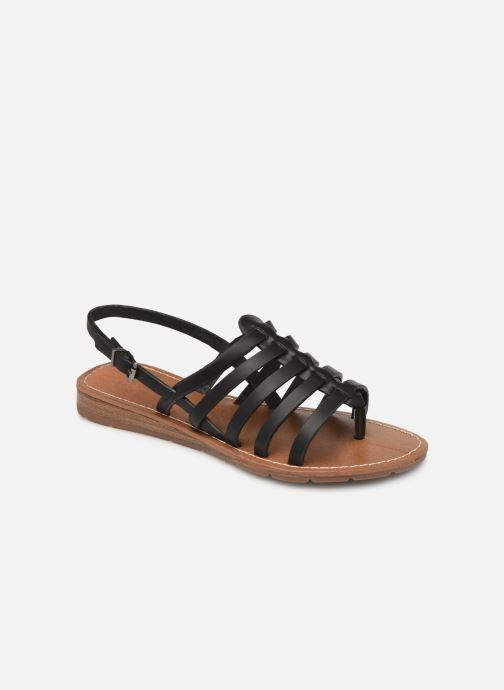 Sandales et nu-pieds Chattawak SHIRLEY Noir vue détail/paire