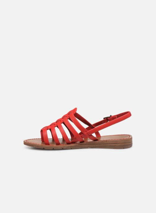 Sandales et nu-pieds Chattawak SHIRLEY Rouge vue face