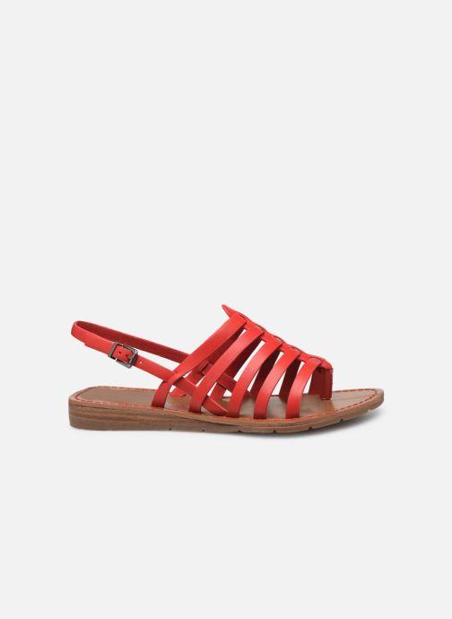 Sandales et nu-pieds Chattawak SHIRLEY Rouge vue derrière