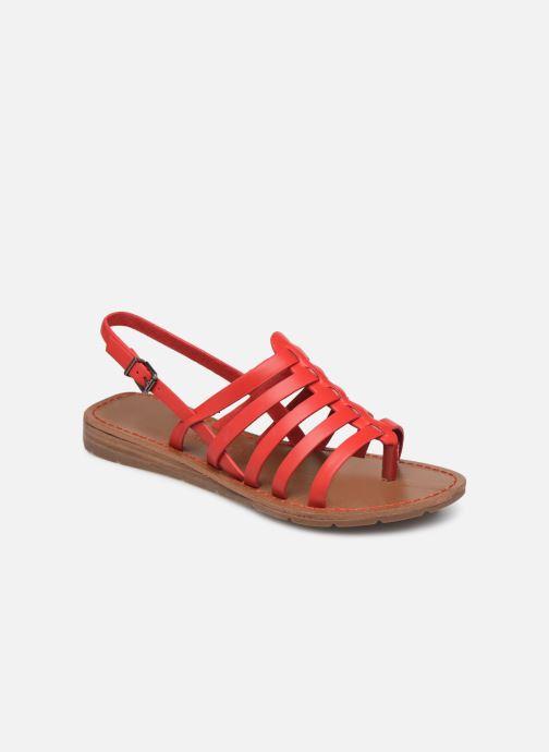 Sandales et nu-pieds Chattawak SHIRLEY Rouge vue détail/paire
