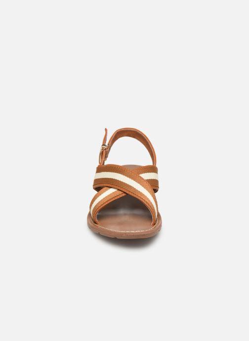 Sandalen Chattawak TIFFANY braun schuhe getragen