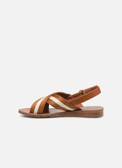 Sandalen Chattawak TIFFANY braun ansicht von vorne