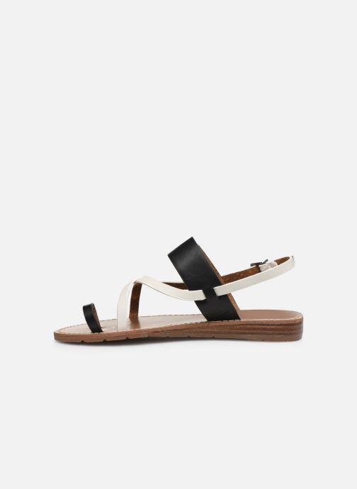 Sandalen Chattawak VALERIANE schwarz ansicht von vorne