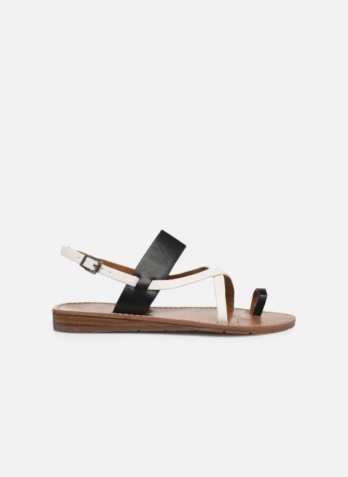 Sandalen Chattawak VALERIANE schwarz ansicht von hinten