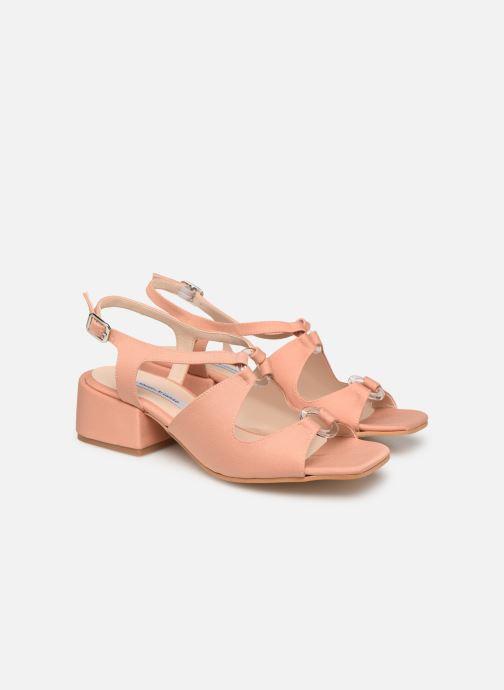 Sandales et nu-pieds About Arianne Brava Rose vue 3/4