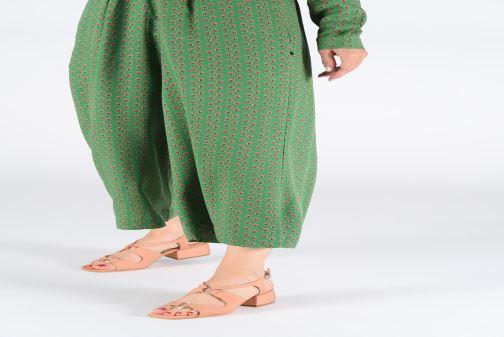 Sandalen About Arianne Brava rosa ansicht von unten / tasche getragen