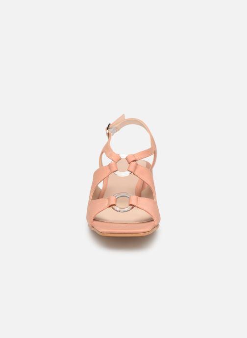 Sandales et nu-pieds About Arianne Brava Rose vue portées chaussures