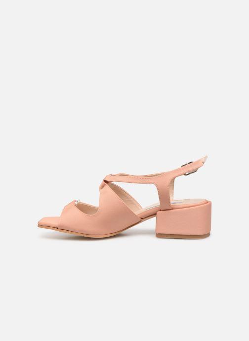 Sandales et nu-pieds About Arianne Brava Rose vue face