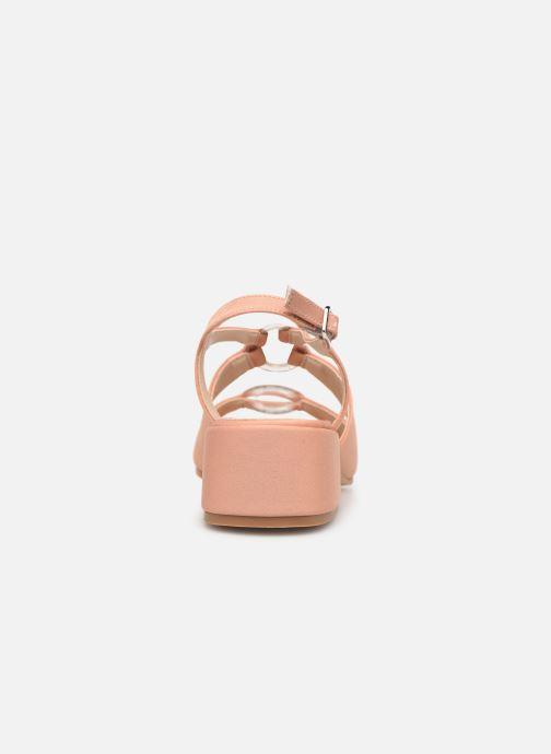 Sandales et nu-pieds About Arianne Brava Rose vue droite