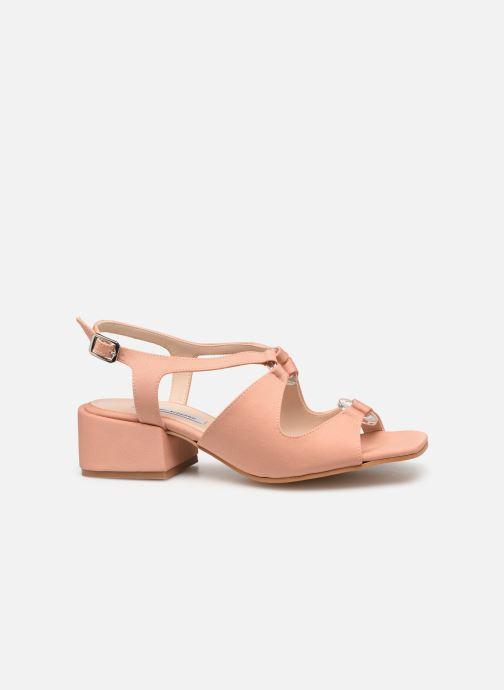 Sandales et nu-pieds About Arianne Brava Rose vue derrière