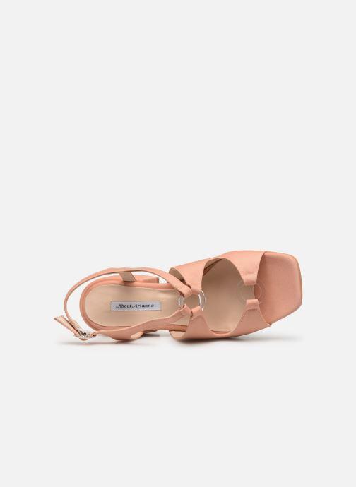 Sandales et nu-pieds About Arianne Brava Rose vue gauche