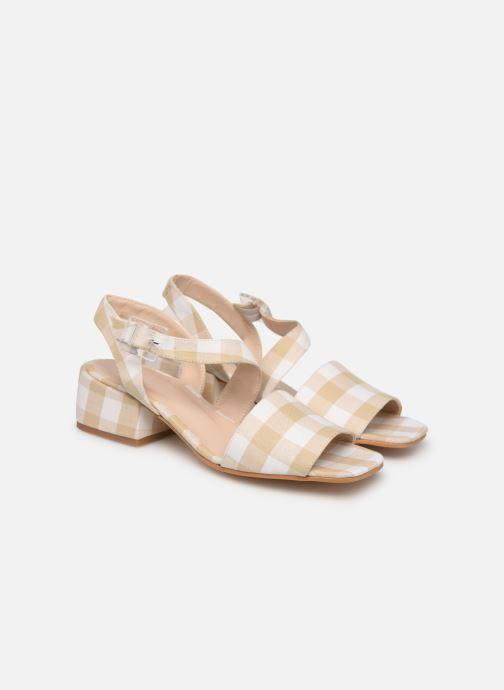 Sandales et nu-pieds About Arianne Selva Clear Beige vue 3/4