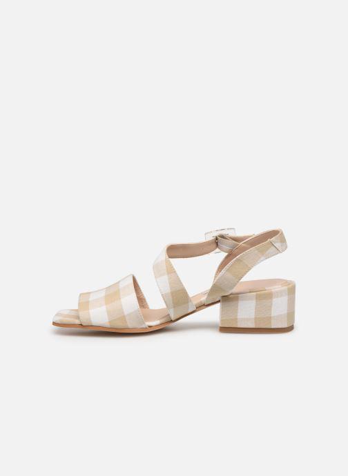 Sandales et nu-pieds About Arianne Selva Clear Beige vue face
