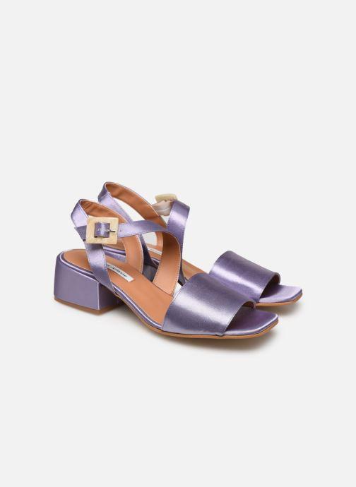 Sandales et nu-pieds About Arianne Selva Clear Violet vue 3/4