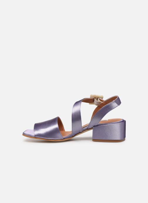 Sandales et nu-pieds About Arianne Selva Clear Violet vue face