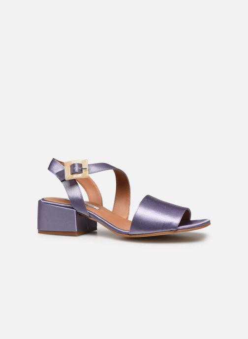 Sandales et nu-pieds About Arianne Selva Clear Violet vue derrière