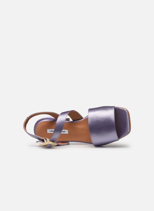 Sandales et nu-pieds About Arianne Selva Clear Violet vue gauche