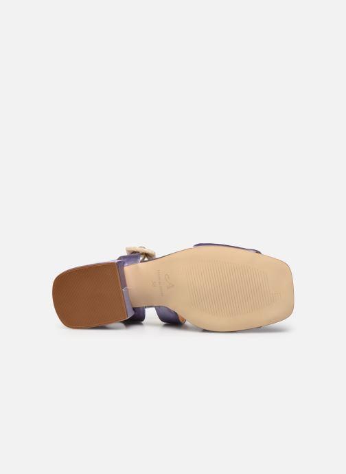 Sandales et nu-pieds About Arianne Selva Clear Violet vue haut