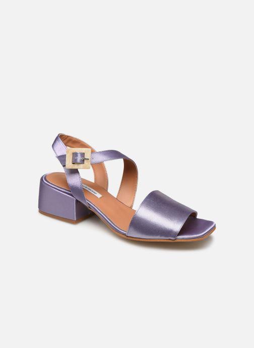 Sandales et nu-pieds About Arianne Selva Clear Violet vue détail/paire