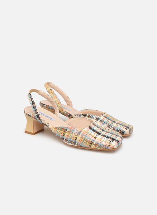 Sandales et nu-pieds About Arianne Plage Multicolore vue 3/4