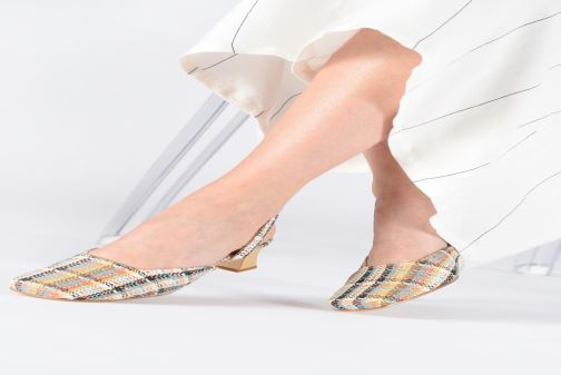 Sandales et nu-pieds About Arianne Plage Multicolore vue bas / vue portée sac
