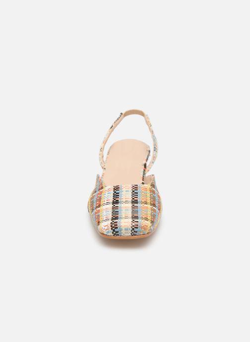 Sandales et nu-pieds About Arianne Plage Multicolore vue portées chaussures