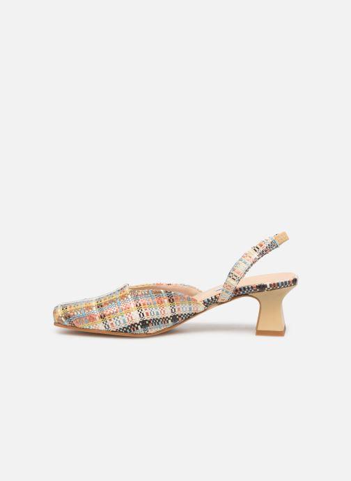Sandales et nu-pieds About Arianne Plage Multicolore vue face