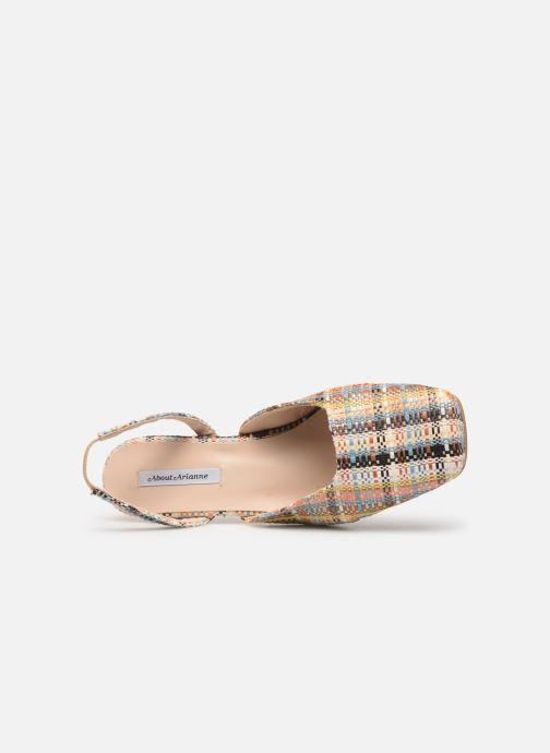 Sandales et nu-pieds About Arianne Plage Multicolore vue gauche
