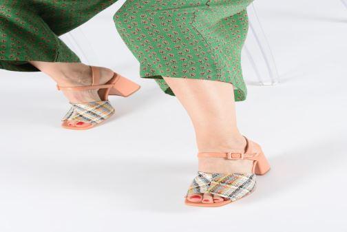 Sandales et nu-pieds About Arianne Rita Multicolore vue bas / vue portée sac