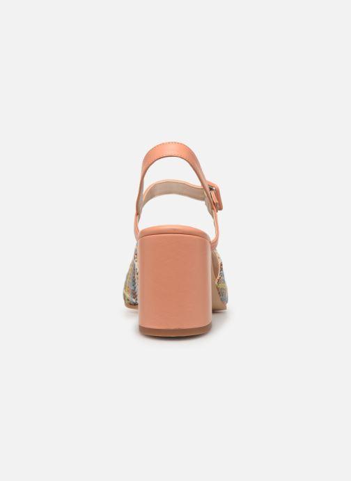 Sandales et nu-pieds About Arianne Rita Multicolore vue droite