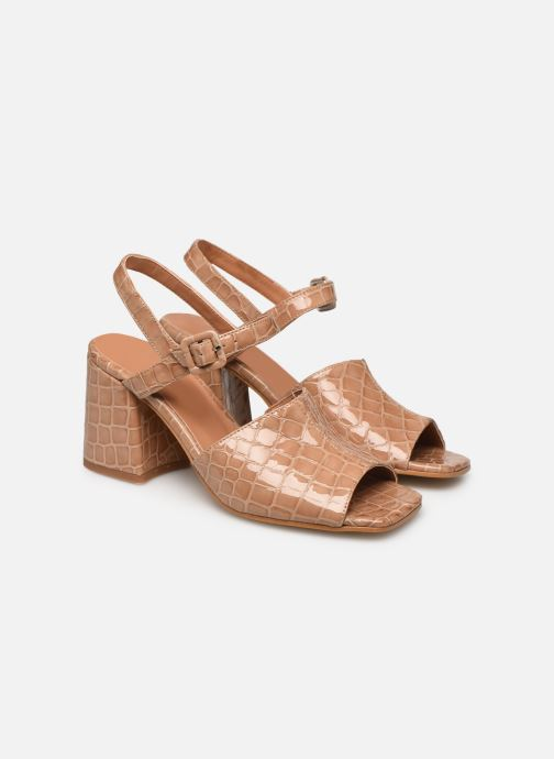 Sandales et nu-pieds About Arianne Rita Beige vue 3/4