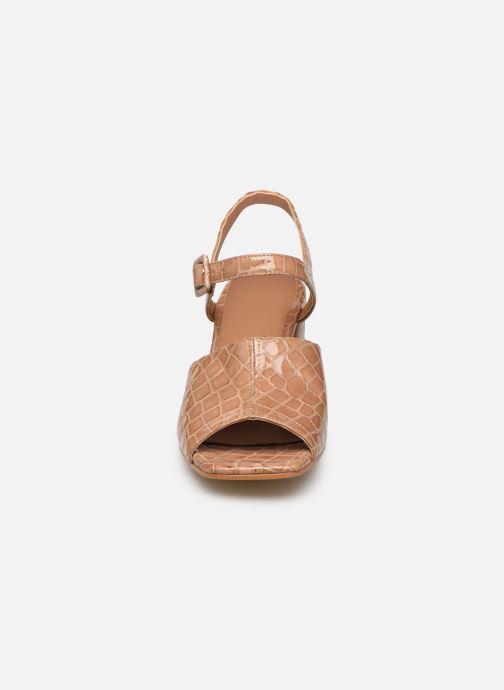 Sandales et nu-pieds About Arianne Rita Beige vue portées chaussures