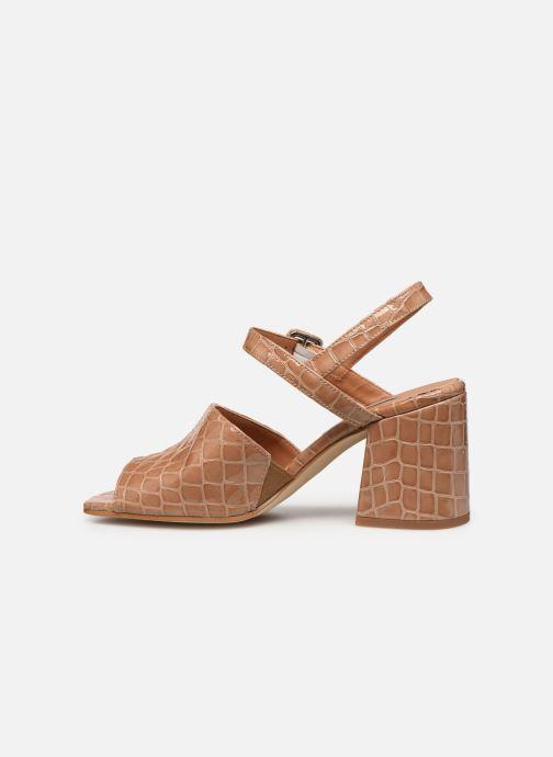 Sandales et nu-pieds About Arianne Rita Beige vue face