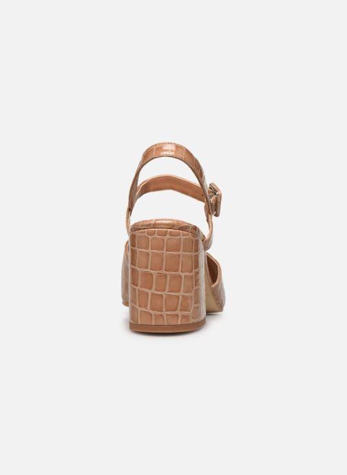 Sandales et nu-pieds About Arianne Rita Beige vue droite