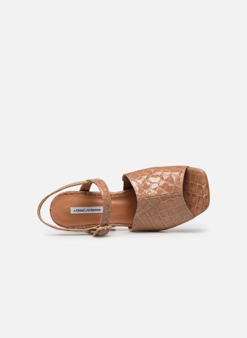 Sandales et nu-pieds About Arianne Rita Beige vue gauche