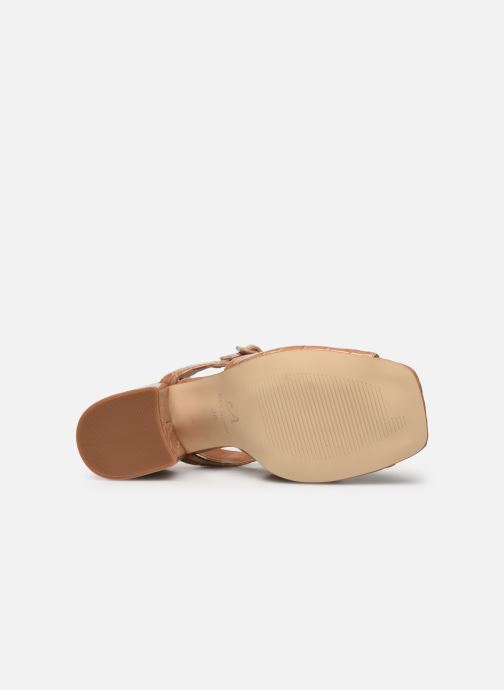 Sandales et nu-pieds About Arianne Rita Beige vue haut