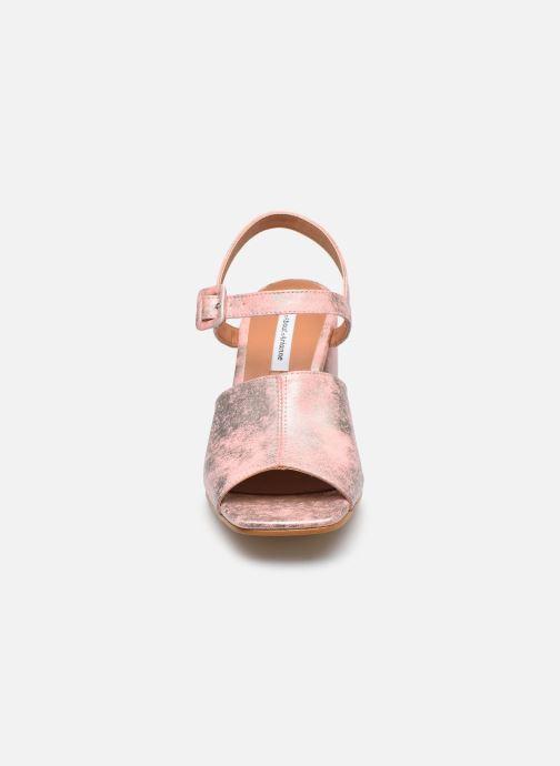 Sandales et nu-pieds About Arianne Rita Rose vue portées chaussures