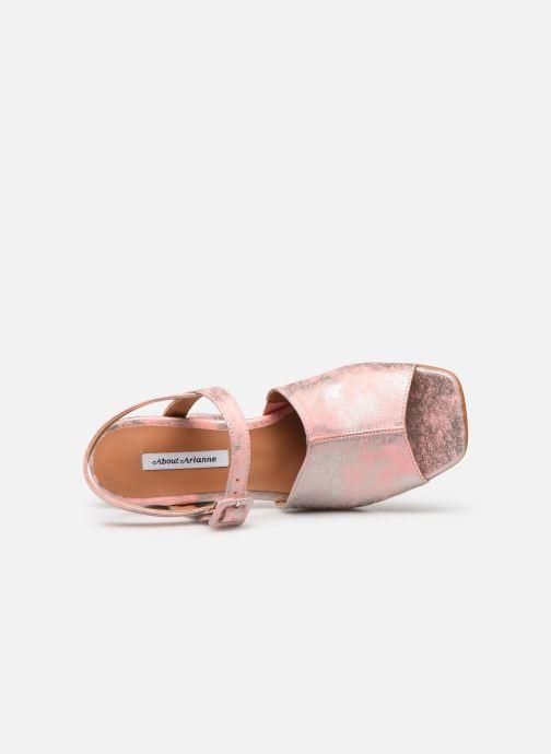 Sandales et nu-pieds About Arianne Rita Rose vue gauche