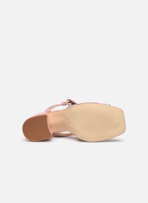 Sandales et nu-pieds About Arianne Rita Rose vue haut