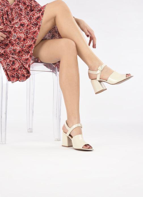 Sandalen About Arianne Rita weiß ansicht von unten / tasche getragen