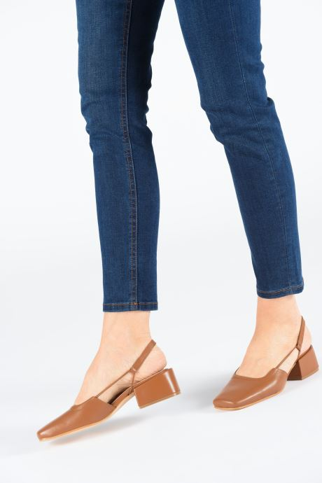 Zapatos de tacón About Arianne Estela Marrón vista de abajo