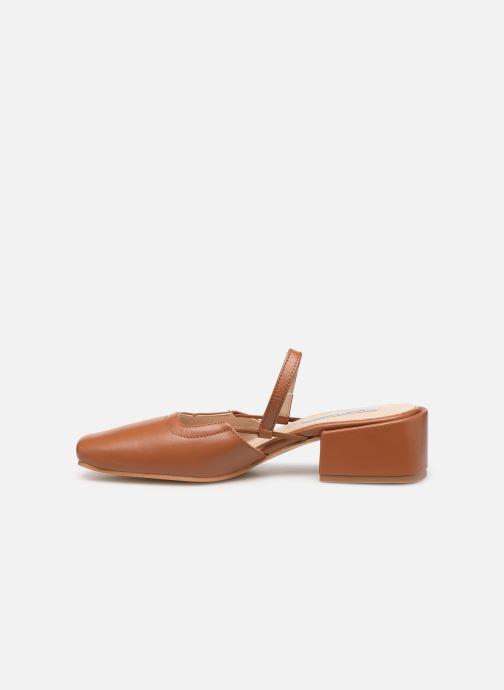 Zapatos de tacón About Arianne Estela Marrón vista de frente