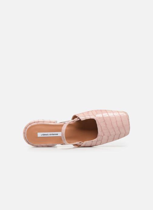 Zapatos de tacón About Arianne Estela Rosa vista lateral izquierda