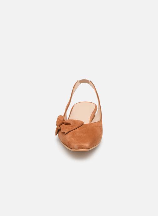 Sandales et nu-pieds About Arianne Galo Bow Marron vue portées chaussures