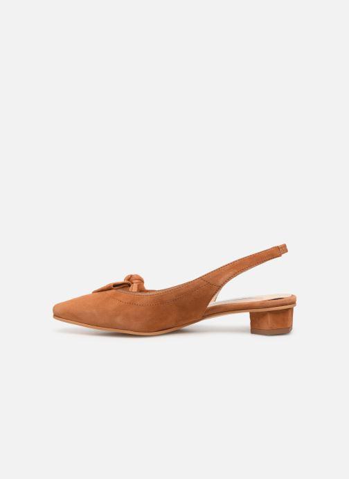 Sandales et nu-pieds About Arianne Galo Bow Marron vue face