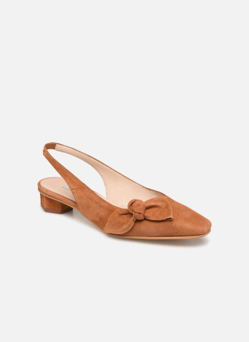 Sandales et nu-pieds About Arianne Galo Bow Marron vue détail/paire