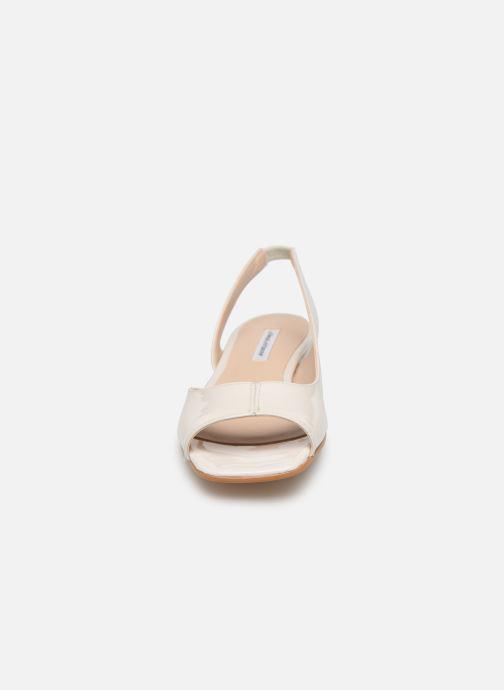 Sandales et nu-pieds About Arianne Planes Blanc vue portées chaussures