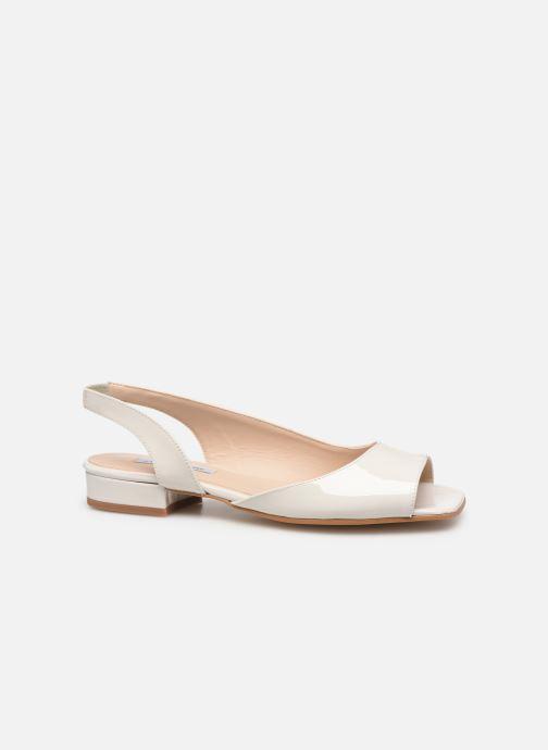 Sandales et nu-pieds About Arianne Planes Blanc vue derrière