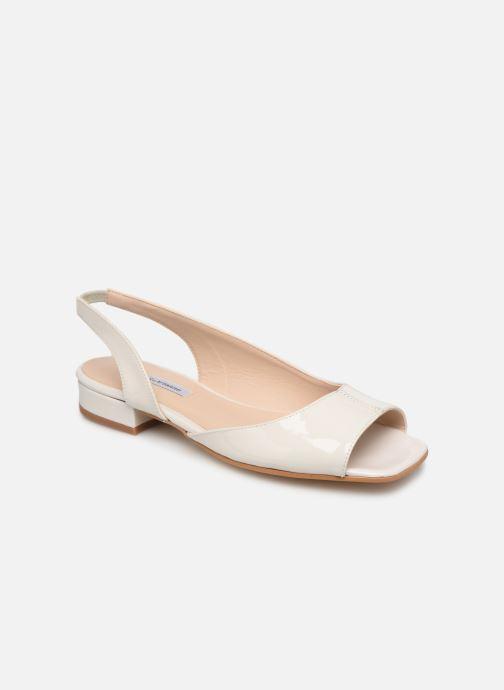 Sandales et nu-pieds About Arianne Planes Blanc vue détail/paire