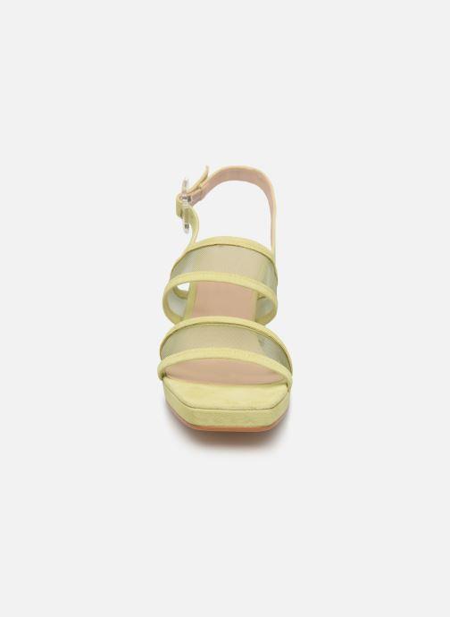 Sandales et nu-pieds About Arianne Pruna Mesh Vert vue portées chaussures